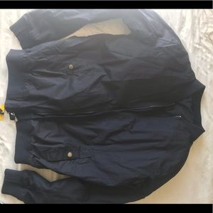 Navy bomber jacket! New with tags